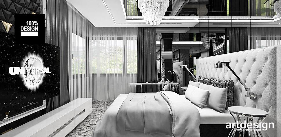 aranżacje sypialni wnętrza design