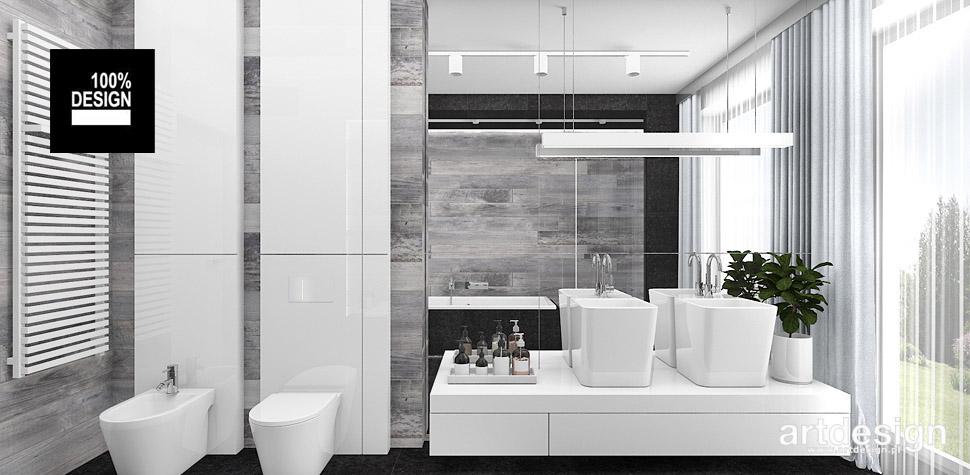projekty łazienki wnętrza design