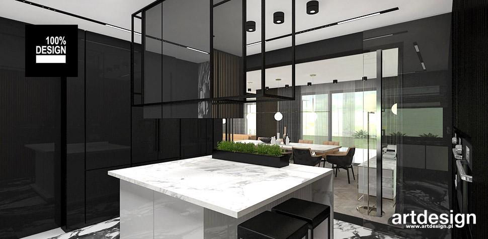 aranżacja wnętrza kuchni projektant wnętrz