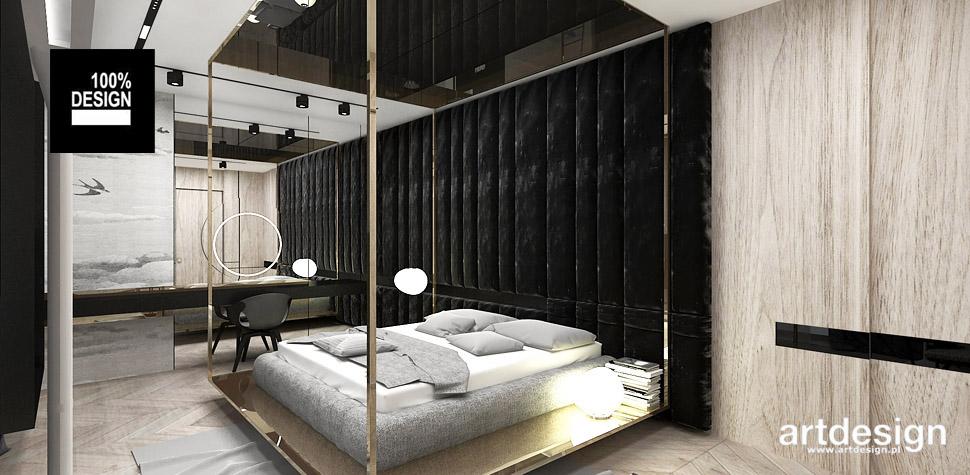 aranżacja wnętrz sypialni