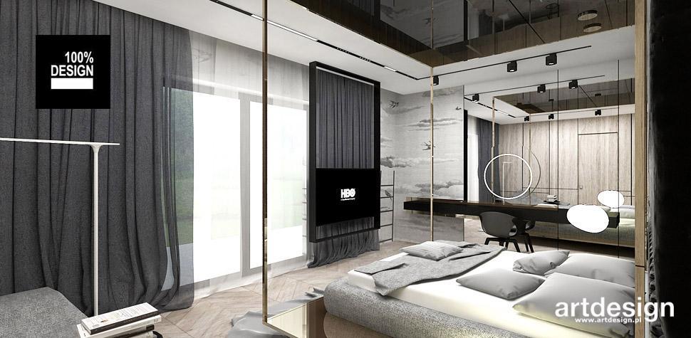 luksusowe wnętrza sypialnia