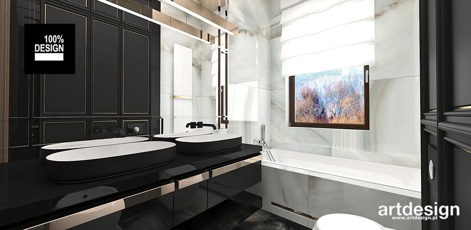 projekty łazienek wnętrz