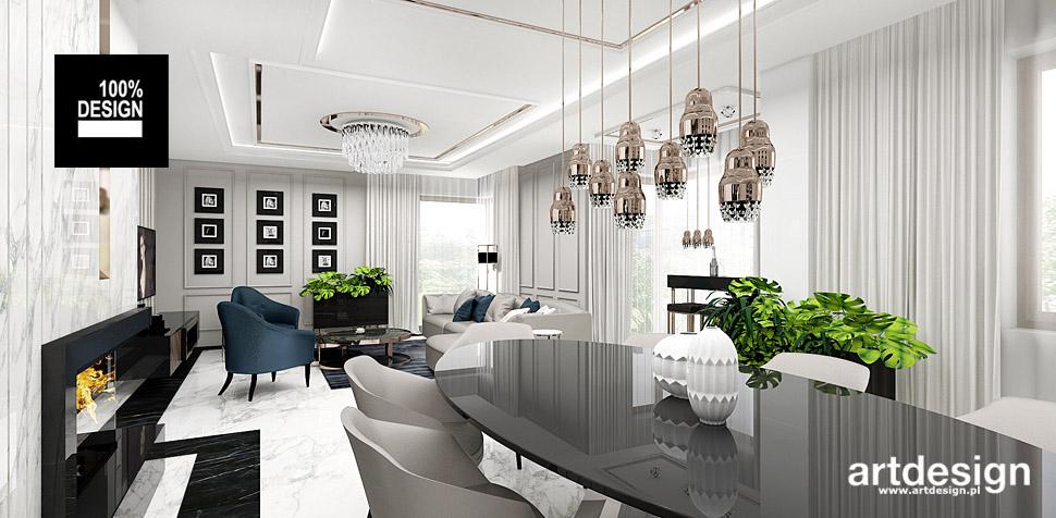 projektowanie wnętrza salonu