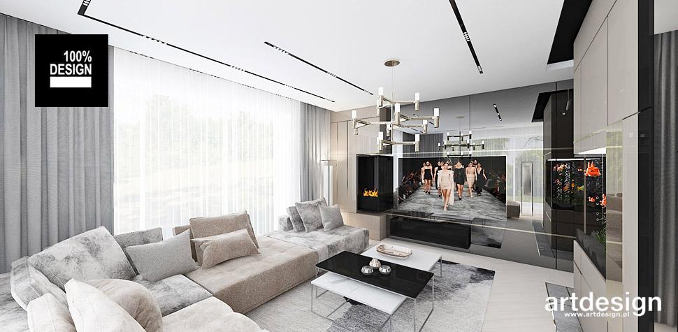 projekty nowoczesnego mieszkania wnętrza