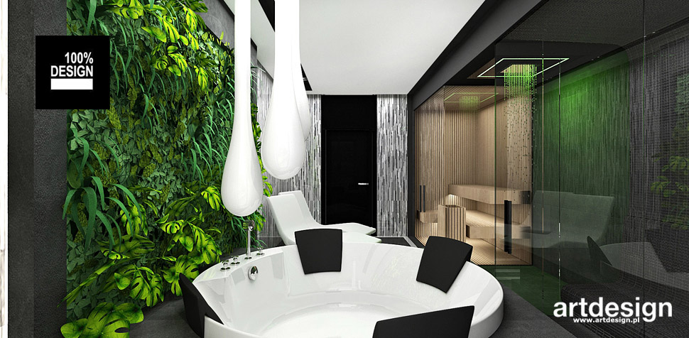 sauna wnętrza aranżacje