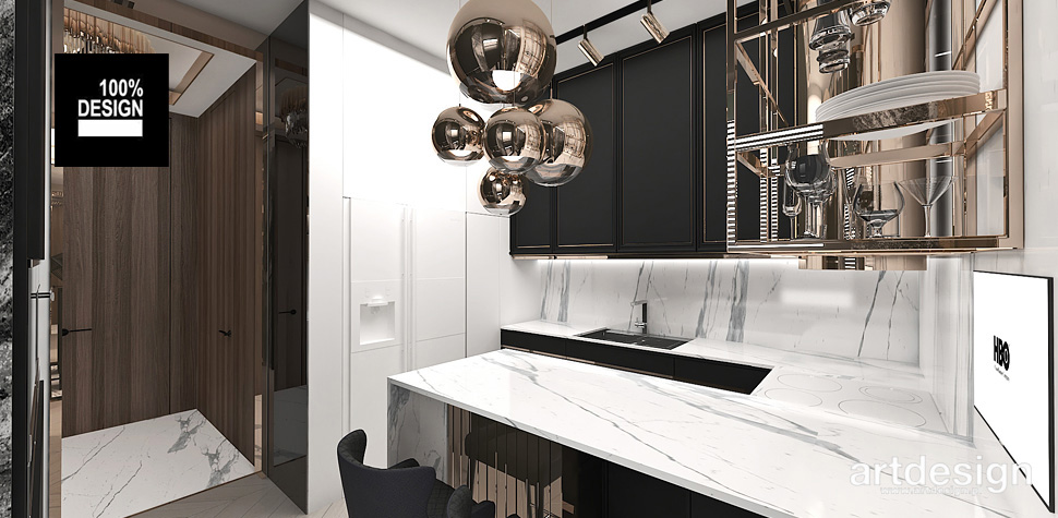 projekty kuchnia w mieszkaniu