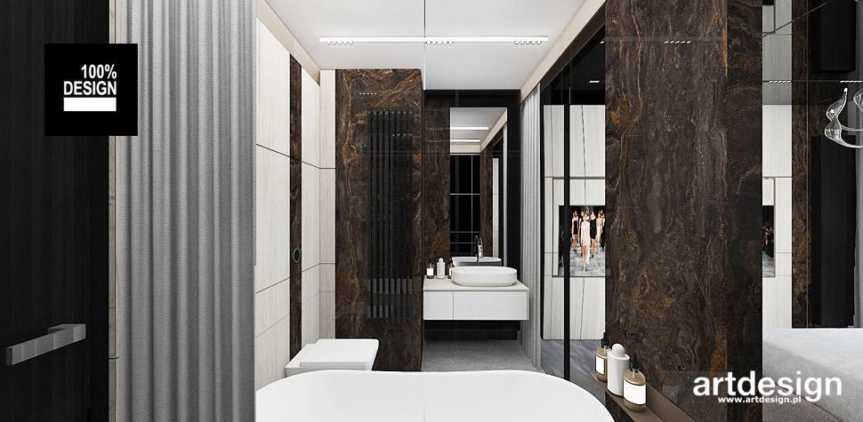 aranżacje łazienek wnętrza