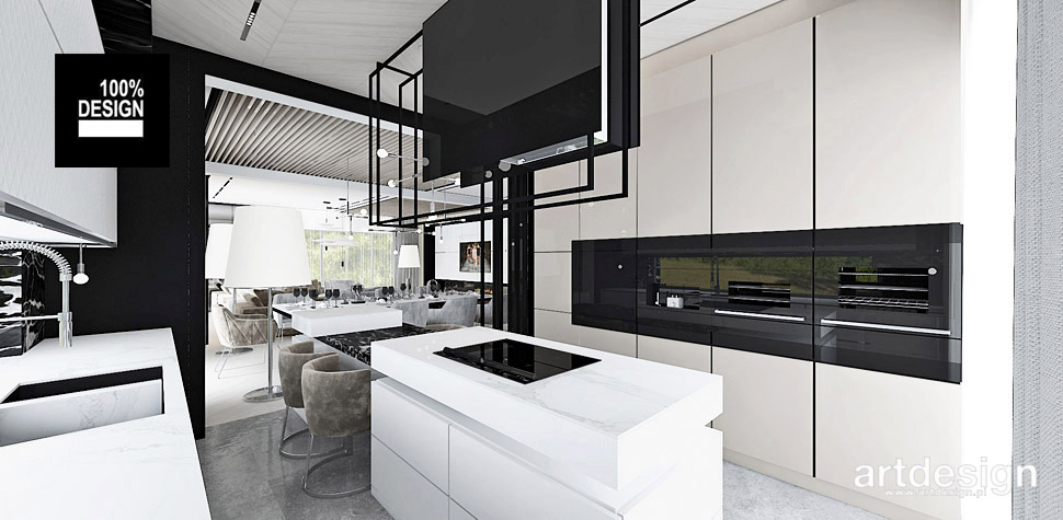 projektowanie wnętrz kuchni z wyspa