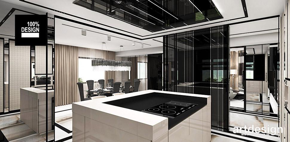 projekt kuchni wnętrza