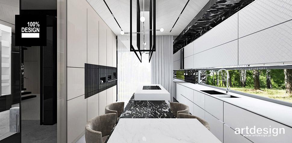 projektowanie wnętrz domów aranżacje