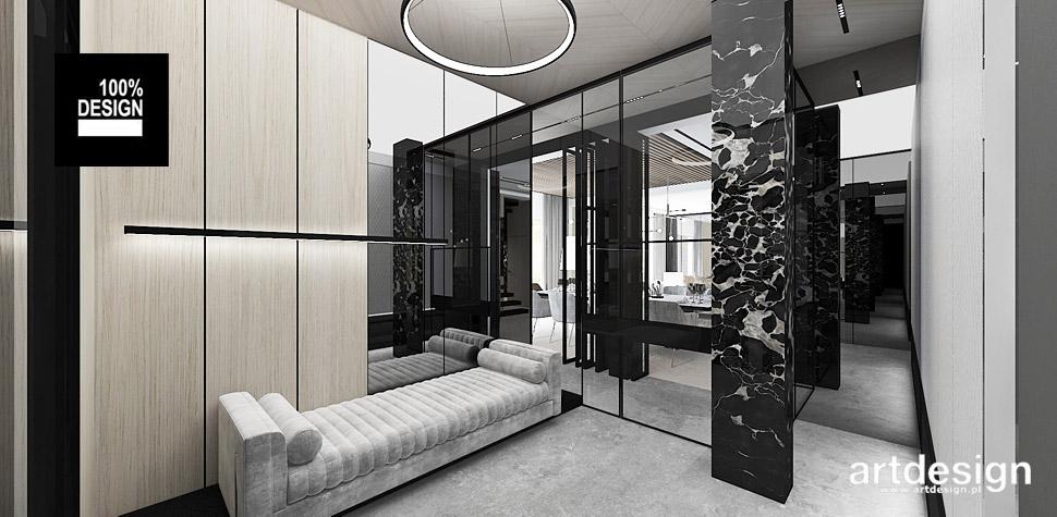 luksusowe wnętrza domu architektura wnętrz