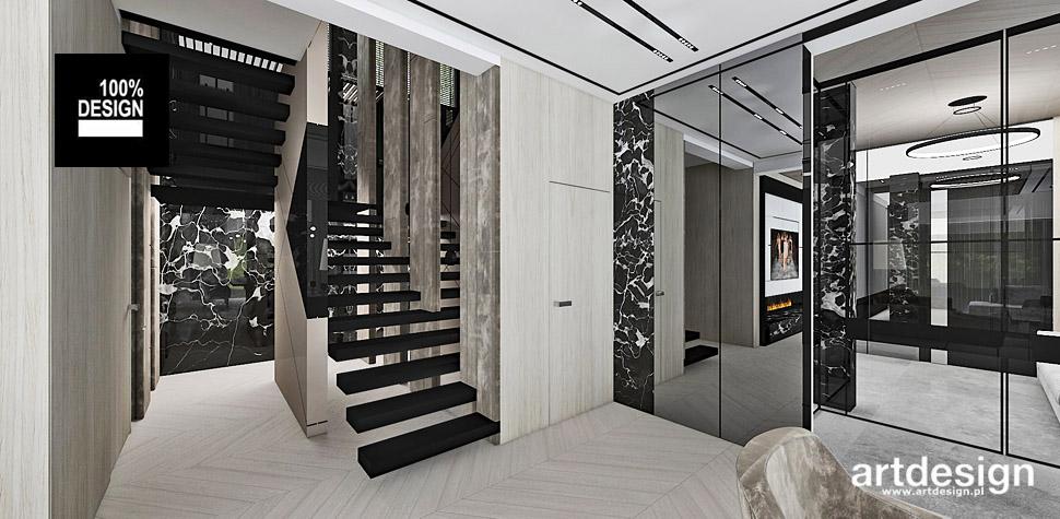 aranżacje wnętrz domów design