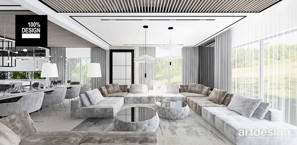 projekty wnętrz dom design