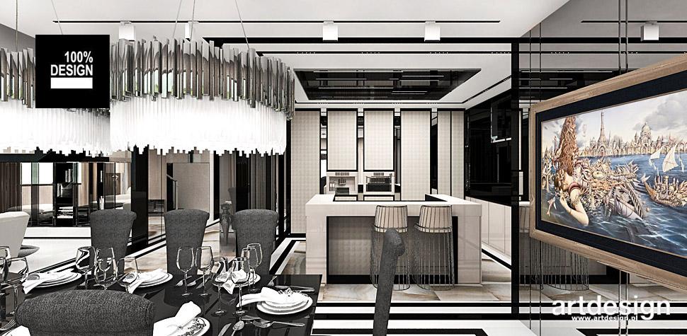 aranżacje kuchni wnętrze projekty