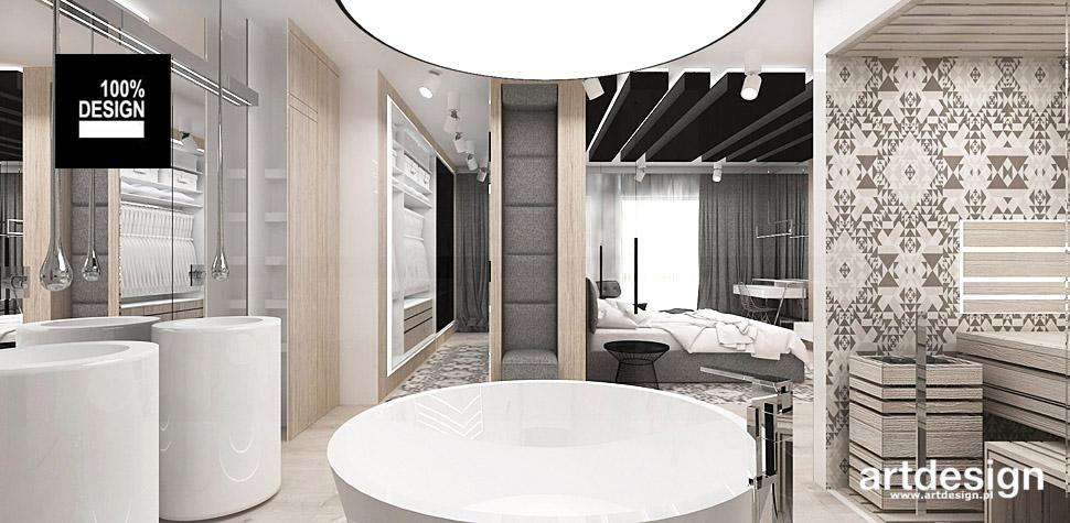 projekty wnętrz salon kąpielowy