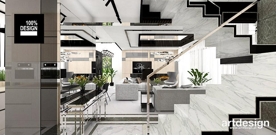 nowoczesne wnętrza domów aranżacje
