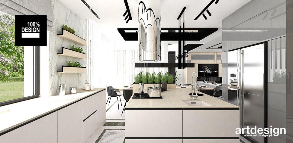 aranżacje kuchni wnętrza kuchnia projekty wnętrz