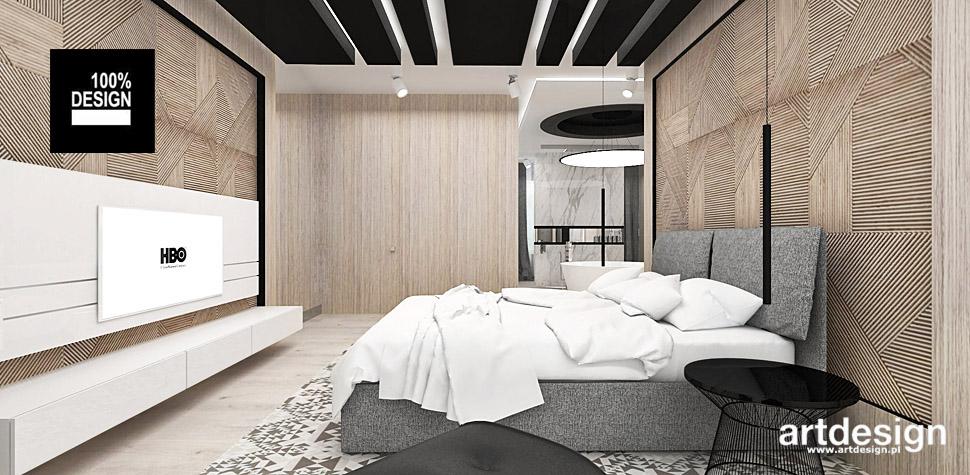 aranżacje wnętrz sypialni wnętrza