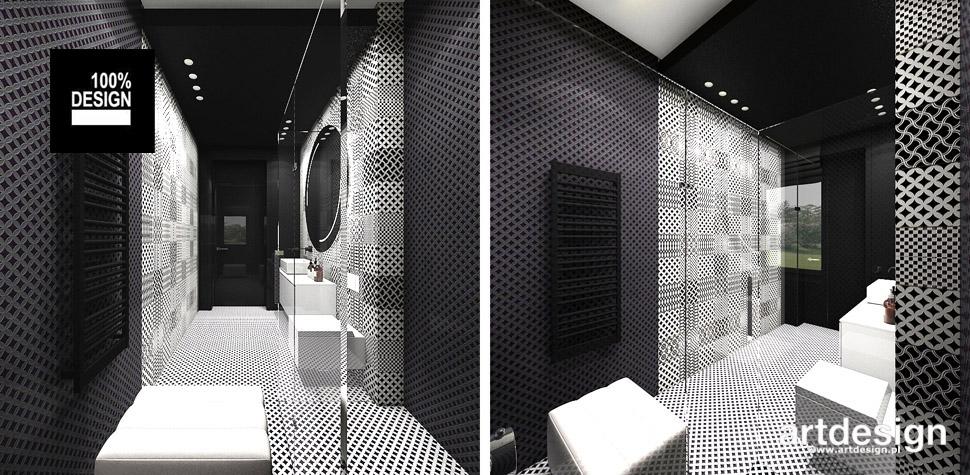 nowoczesne wnętrza łazienki projektant