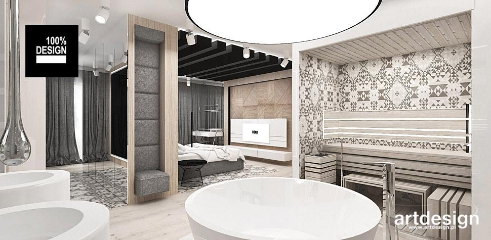projektowanie wnętrz salon kąpielowy wnętrza sauna