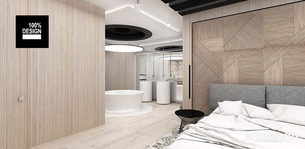 projekty wnętrz nowoczesnej sypialni