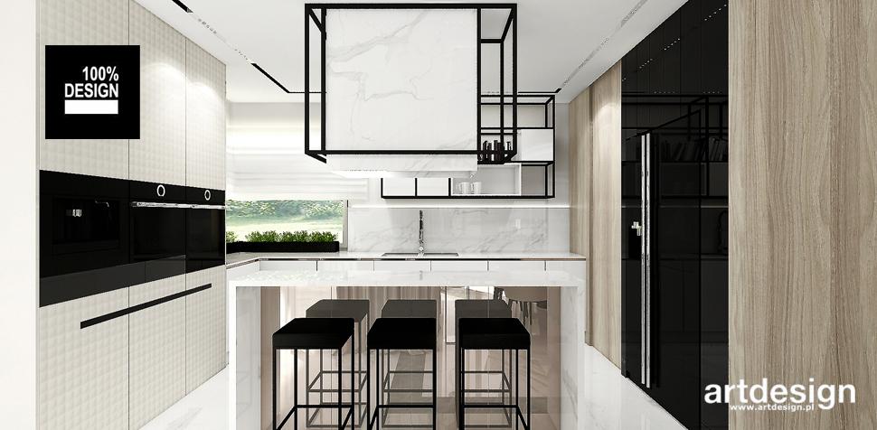 projekt minimalistyczna kuchnia