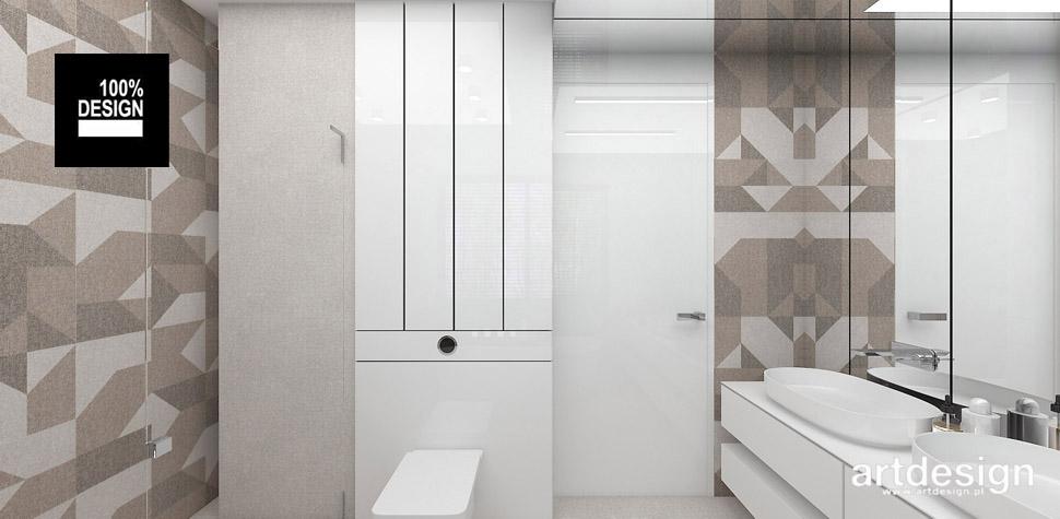 efektowna aranżacja łazienki