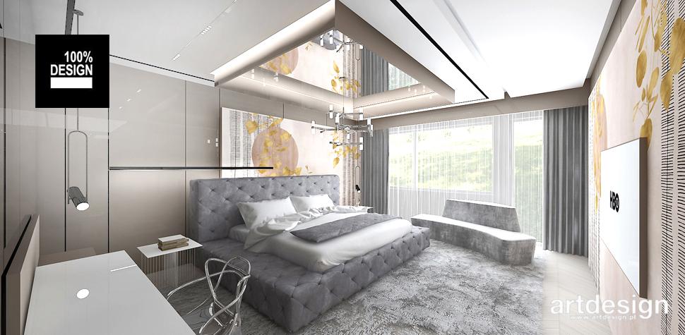 stylowa sypialnia wnętrze