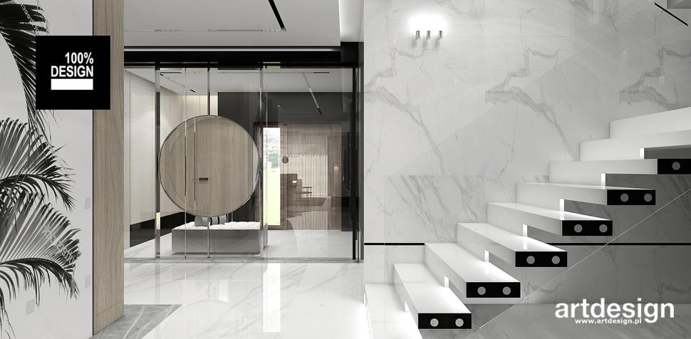 eleganckie wnętrze hol