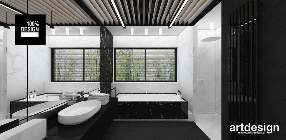 nowoczesna łazienka aranżacja