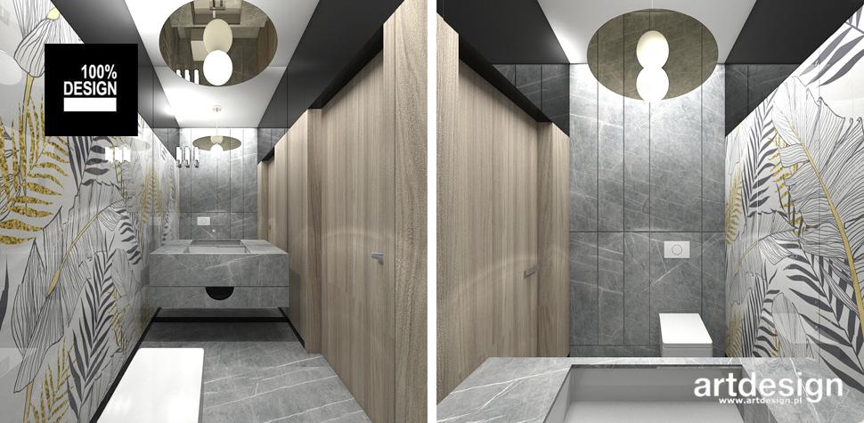 wyszukana łazienka projekt