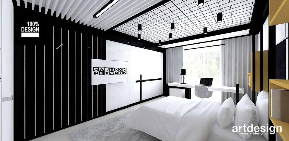 pokój nastolatka nowoczesne wnętrze