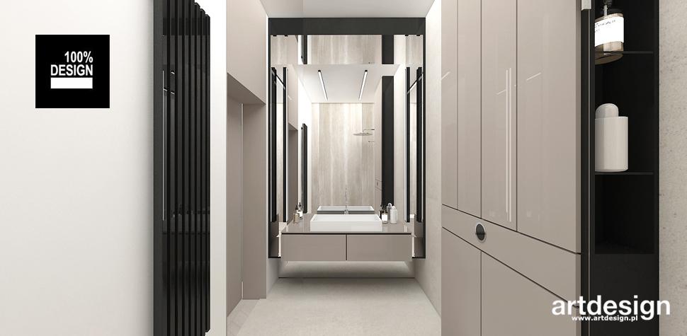 minimalistyczna łazienka w stylu nowoczesnym