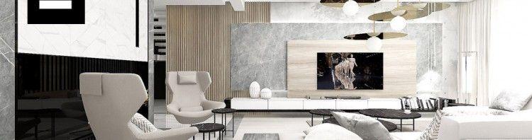 stylowy salon wnętrze