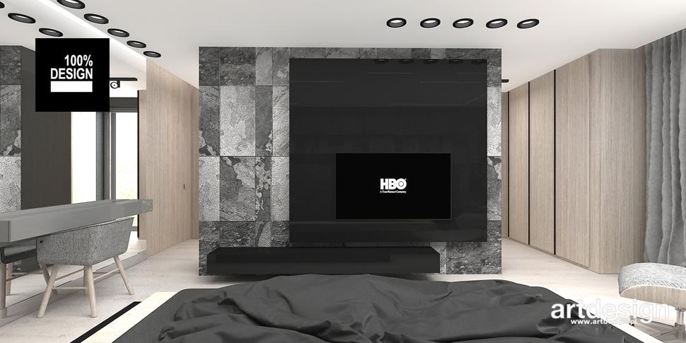 stylowa sypialnia projekt
