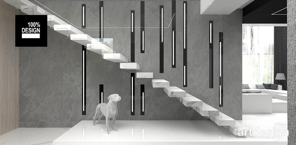 projekt schodów architekt wnętrz