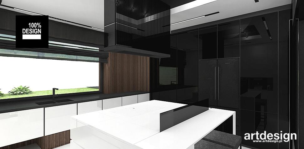 projekt kuchni w stylu nowoczesnym