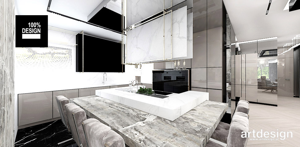 projekt kuchni wnętrze