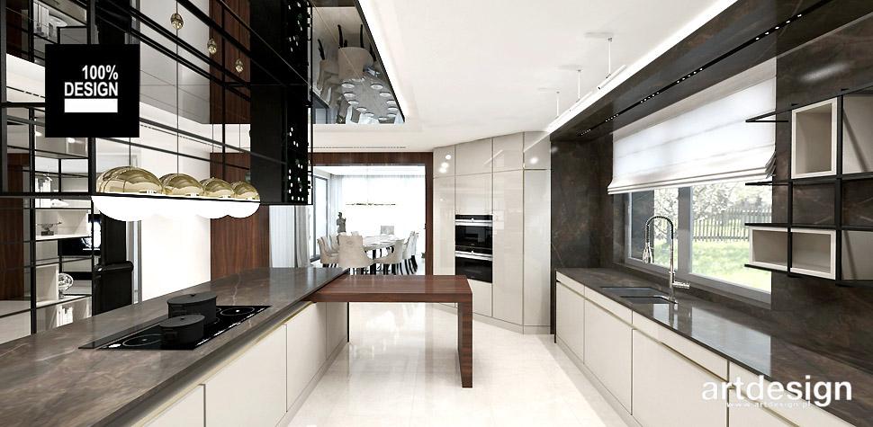 projektowanie wnętrz nowoczesna kuchnia