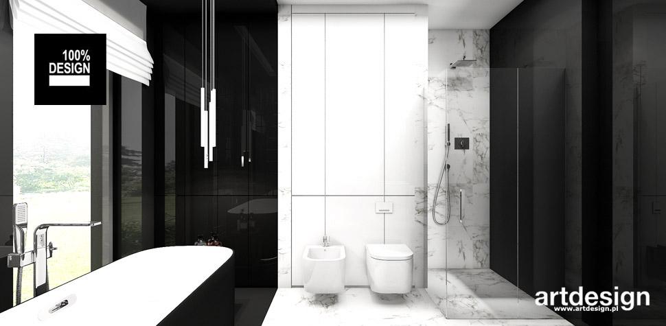 stylowa łazienka projekt