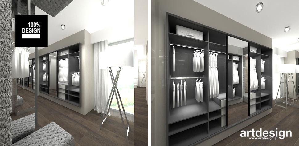 funkcjonalna garderoba wnętrze