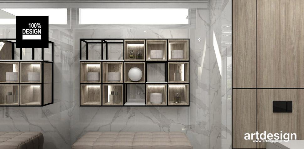 projekty garderoby dom wnętrza