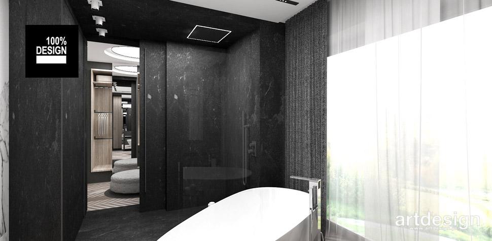 nowoczesna łazienka wnętrza projekt