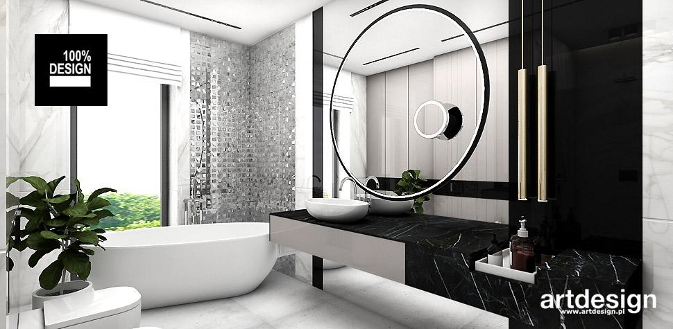 projekty łazienek wnetrza