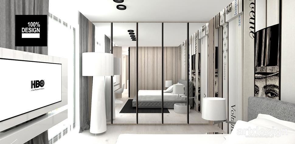 przyjazna sypialnia wizualizacja