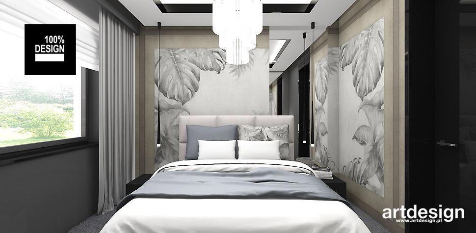 niewielka sypialnia projekt
