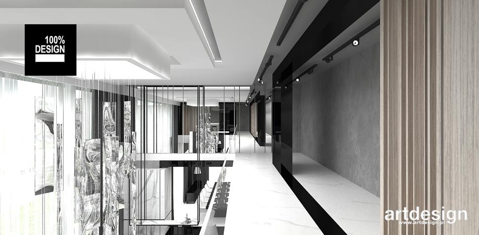 minimalistyczny hol projekt