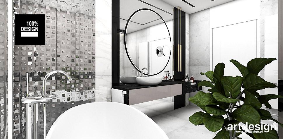 oryginalne aranżacje łazienek wnetrza
