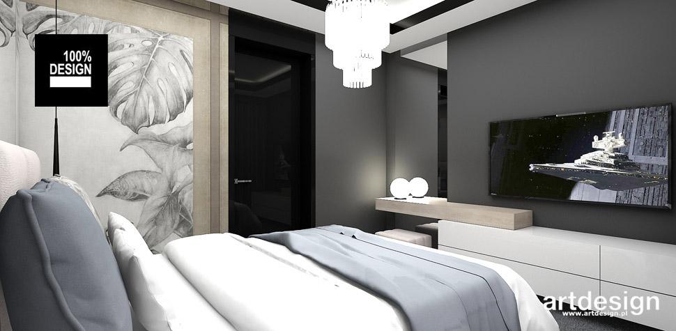 projektowanie wnętrz dom sypialnia
