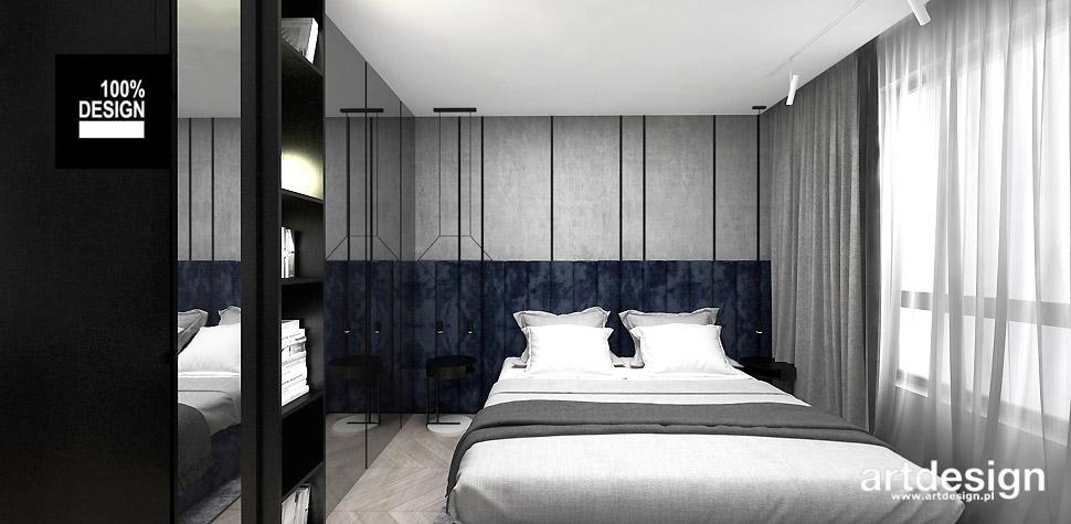 projekty sypialnia wnętrza
